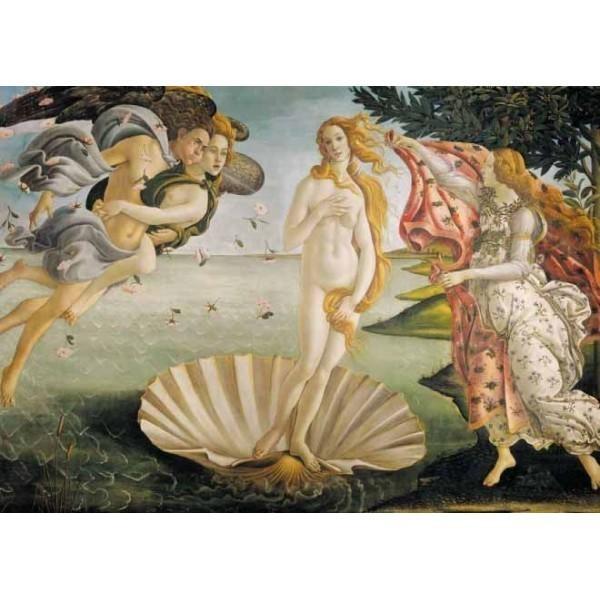 Puzzle Nacimiento de Venus de 1500 piezas