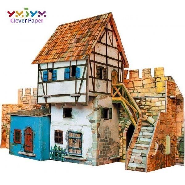 Puzzle 3D Casa Muralla