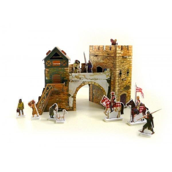 Puzzle 3D Puerta Antigua