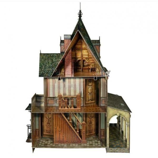Puzzle 3D Casa de Muñecas Victoriana