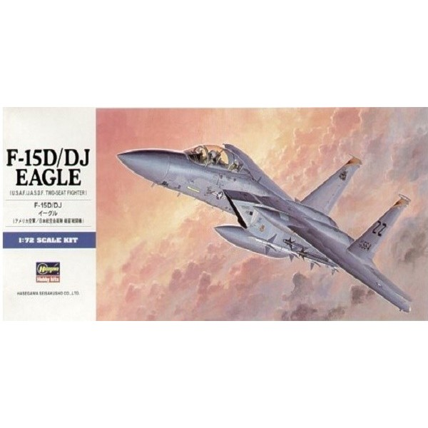 Maqueta F-15D/DJ Eagle