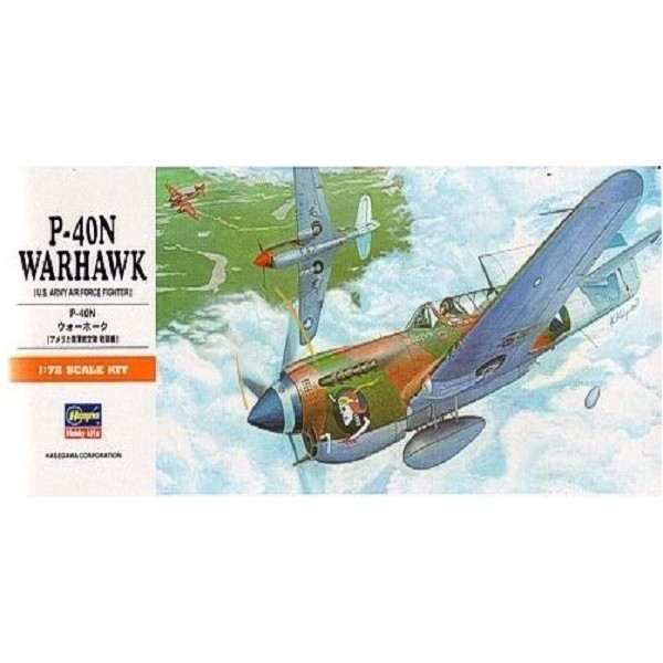 Maqueta P-40N Warhawk
