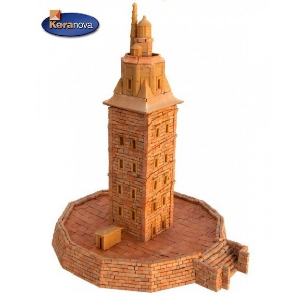 Maqueta de ceramica Torre de Hercules