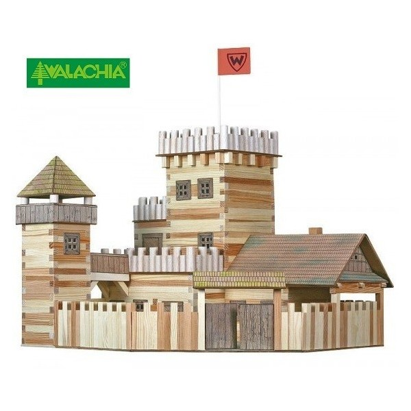 Construccion en madera Castillo 53x41x46