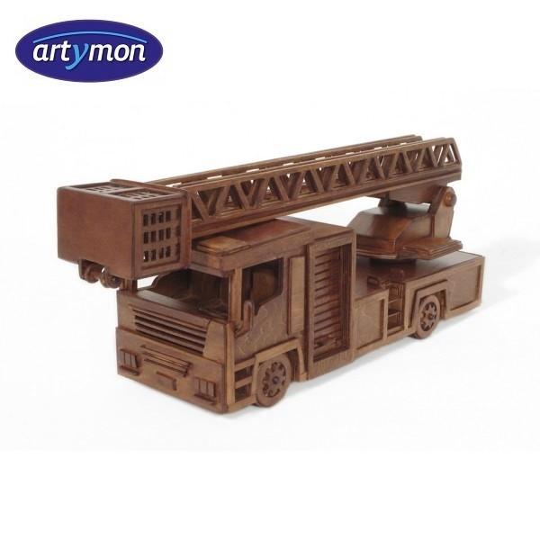 Kit construccion en madera Camión de bomberos