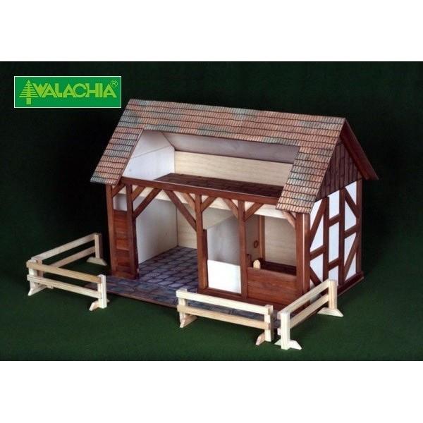 Construccion en madera Establo