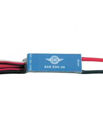 Recambio de avion radiocontrol Ace ESC 30A brushed bec
