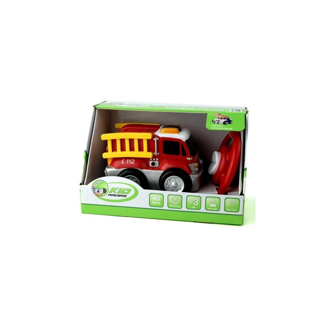 Juguete Kid Racers Camion Bomberos