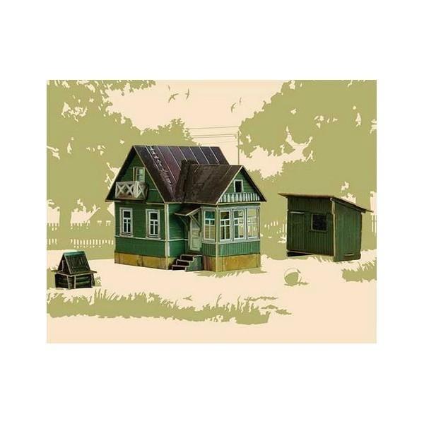 Puzzle 3D Casa Campo