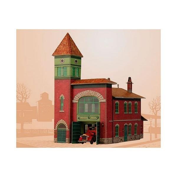 Puzzle 3D Parque de Bomberos