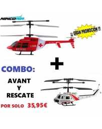 Helicoptero Nincoair 255 Avant + Rescate