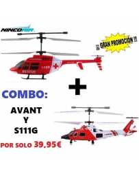 Helicoptero Nincoair 255 Avant + S111G
