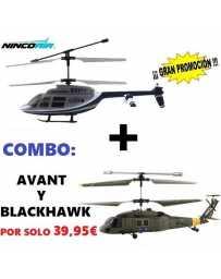 Helicoptero Nincoair 255 Avant + Blackhawk