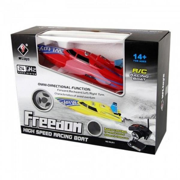 Lancha WLtoys WL911 - Freedom Racer Roja
