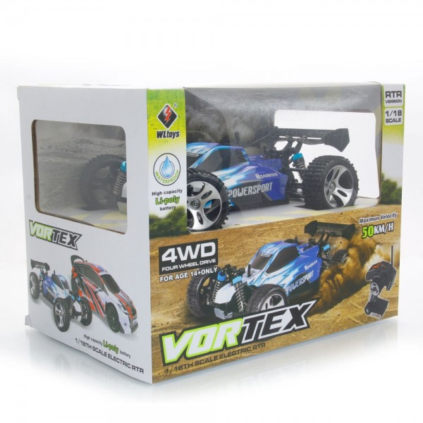 Coche Vortex A959 Rojo Electrico RTR Con Bateria
