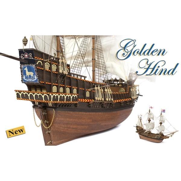 Maqueta Galeon Golden Hind