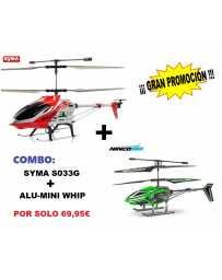 Helicoptero S033-G Nincoair Alu-Mini Whip
