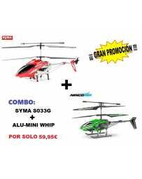 Helicoptero S031-G + Nincoair Alu-Mini Whip
