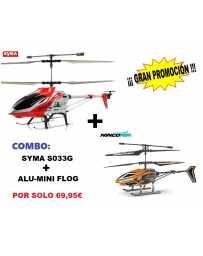 Helicoptero S033-G Nincoair Alu-Mini Flog
