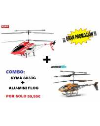 Helicoptero S031-G + Nincoair Alu-Mini Flog