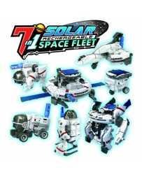 Juguete Kit Estacion Espacial 7 en 1 Solar