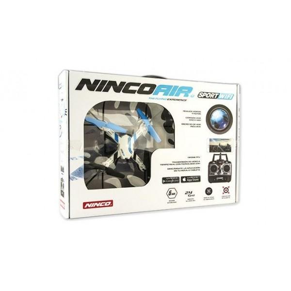Nincoair Quadrone Sport WiFi Con Dos Baterias