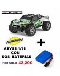 Juguete Parkracers Abyss Green Con Dos Baterías
