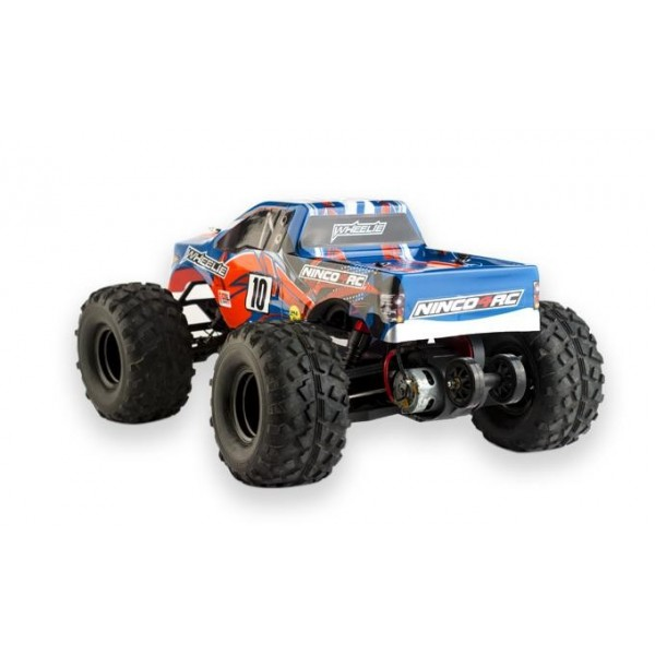 Coche 1/10 Monster 2WD Wheelie