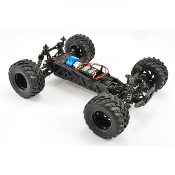 Coche FTX Surge Naranja 1/12 4WD Brushed Monster Truck RTR