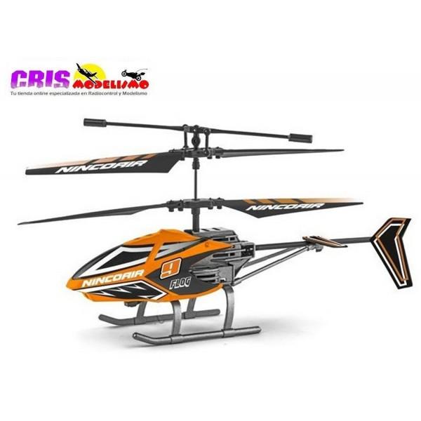 Helicoptero Nincoair Alu Mini Flog