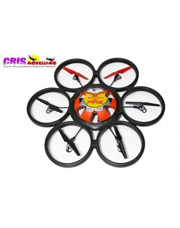 WLToys Hexacóptero V323 - Skywalker