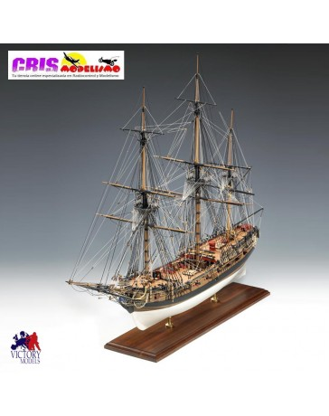 Maqueta H.M.S. Fly 1776