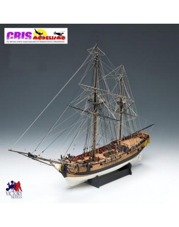 Maqueta H.M Granado bombarda 1742