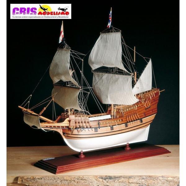 Maqueta Mayflower 1620