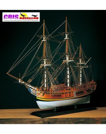 Maqueta H.M.S. Bounty 1787