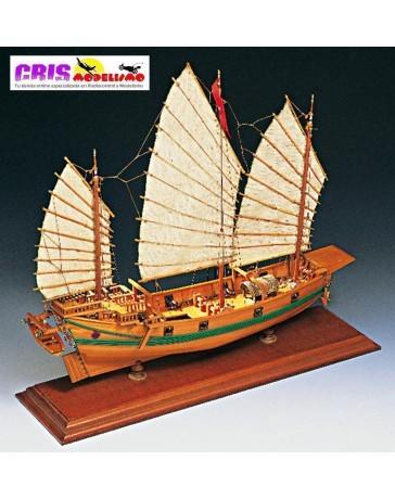 Maqueta Giunca Pirata Cinese