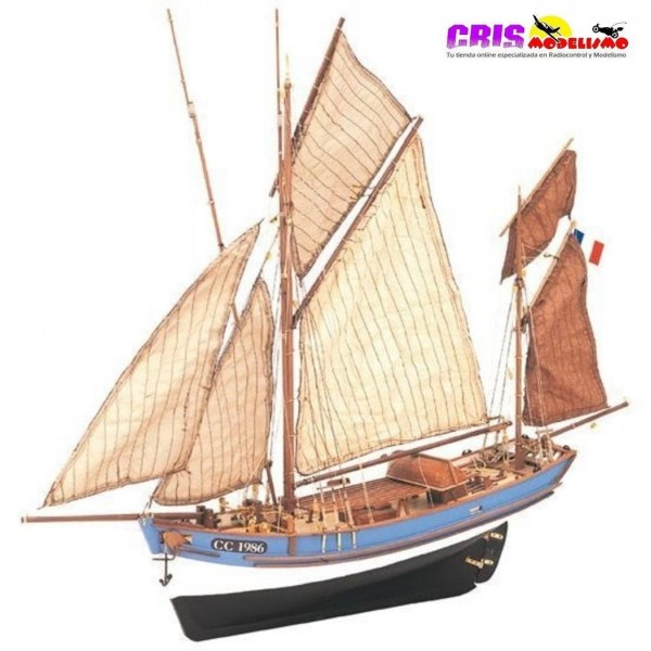 Maqueta Barco Marie Jeanne