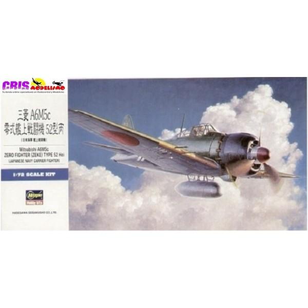 Maqueta de plastico Mitsubishi Zero Fighter Type 52 Hei Zeke