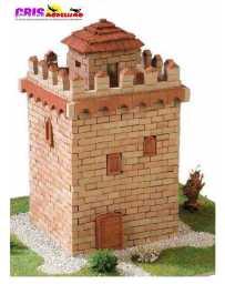 Maqueta de ceramica Torre del Homenaje