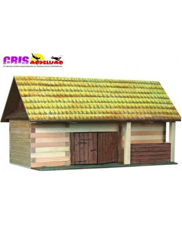 Construccion en madera Almacen