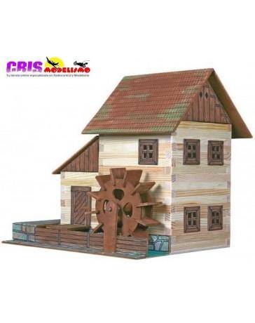 Construccion en madera Molino de Agua