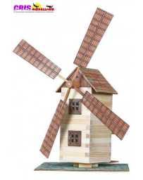 Construccion en madera Molino de Viento