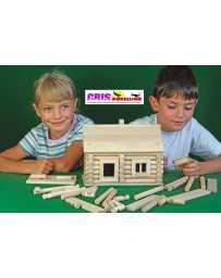 Construccion en madera Vario Maletin 91 piezas