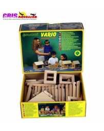 Construccion en madera Vario 72 piezas