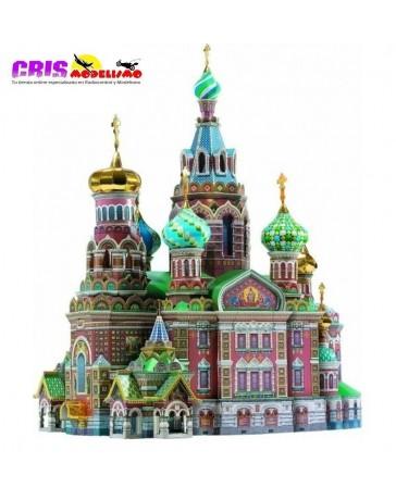 Puzzle 3D Iglesia del Salvador