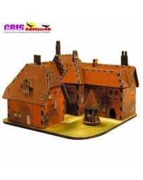 Puzzle 3D Casa Roja