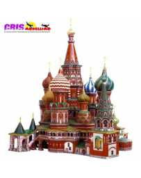 Puzzle 3D Catedral San Basilio
