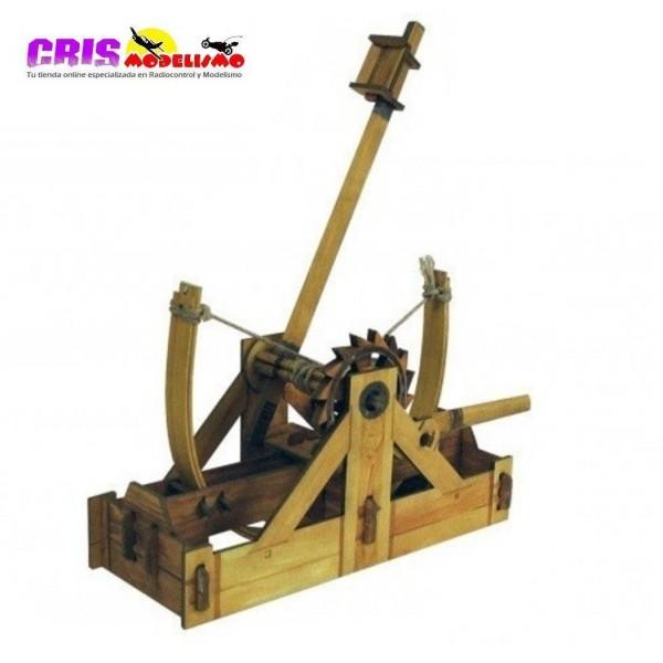 Puzzle 3D Catapulta