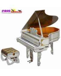 Puzzle 3D Piano Gris