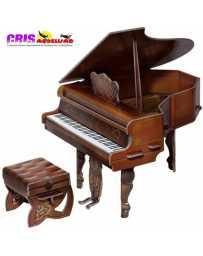 Puzzle 3D Piano Marron